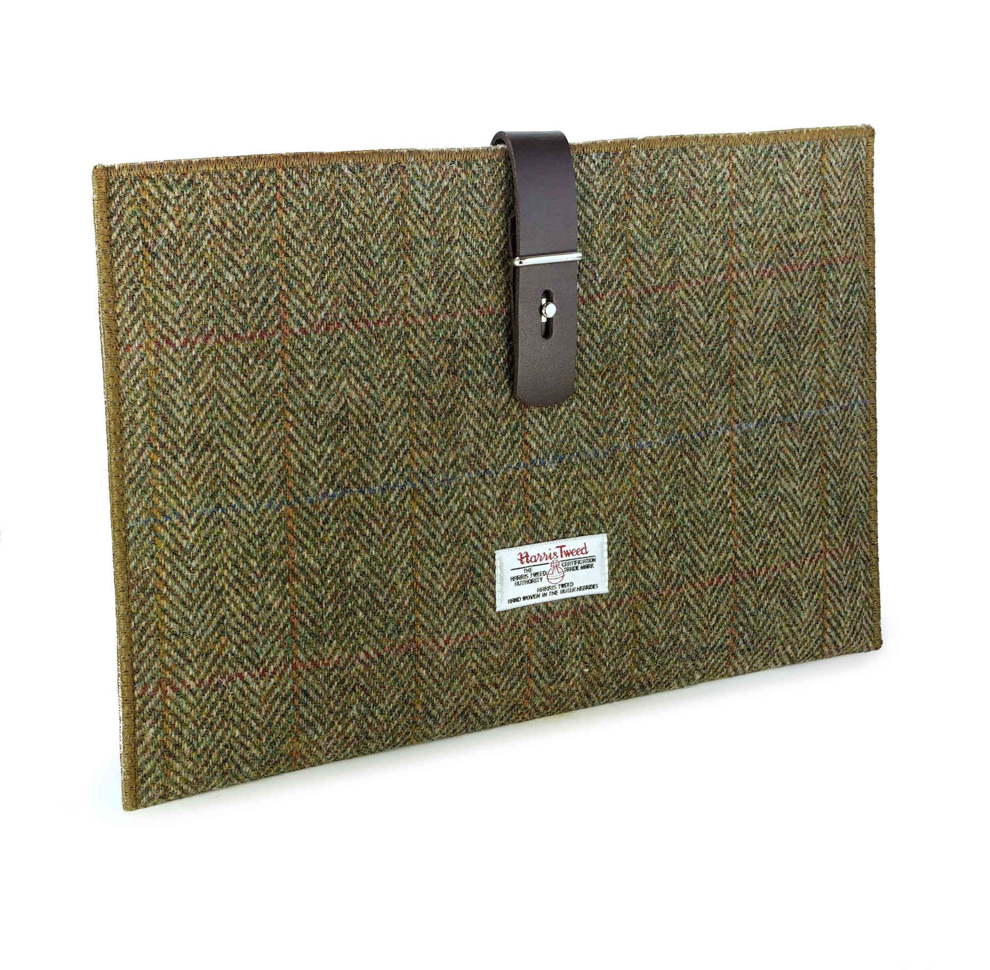 timeless design d702f df4df Harris Tweed Case Cover Sleeve for Apple iPad Pro 12.9