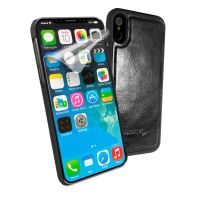 apple iphone 8 alston craig vintage leather shell magnetic replacement case black 1 1 2