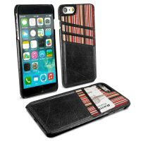 iphone 7 ac shell wallet phone case vintage leather black 1 1 3