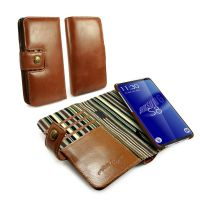 samsung s8 alston craig magnetic vintage leather wallet case brown1 1