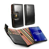 samsung s8 edge wallet magnetic case alston craig vintage black leather 1