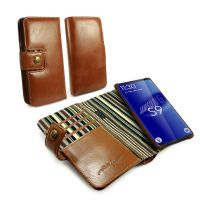samsung s9 alston craig magnetic vintage leather wallet case brown1 5
